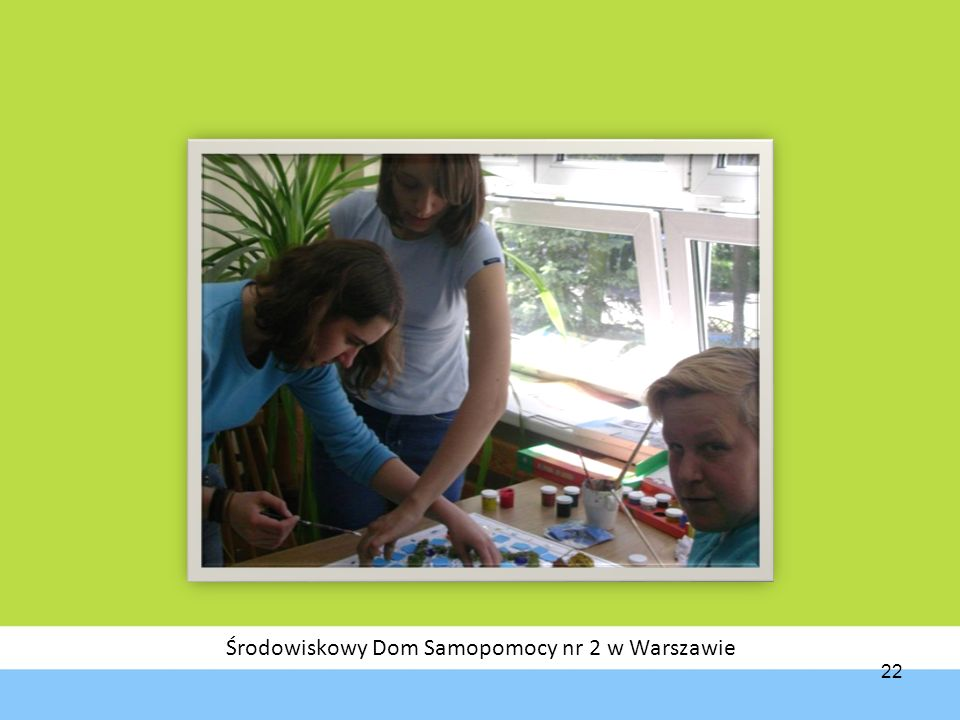 Środowiskowy Dom Samopomocy nr 2 w Warszawie