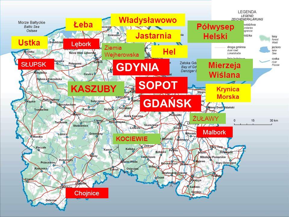Regiony i miasta – wskazania do wizerunku