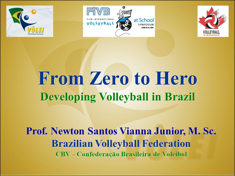 From Zero to Hero Developing Volleyball in Brazil