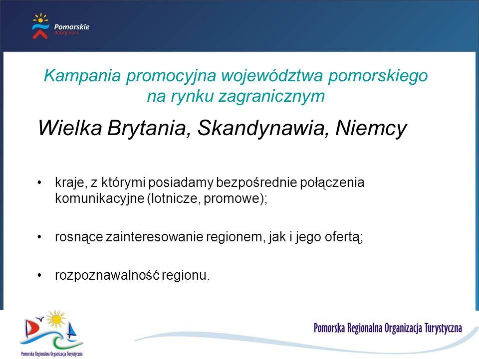 Kampania promocyjna województwa pomorskiego na rynku zagranicznym