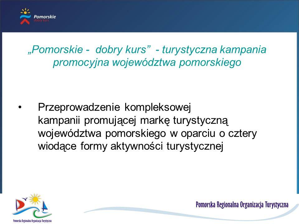 """""""Pomorskie - dobry kurs - turystyczna kampania promocyjna województwa pomorskiego"""