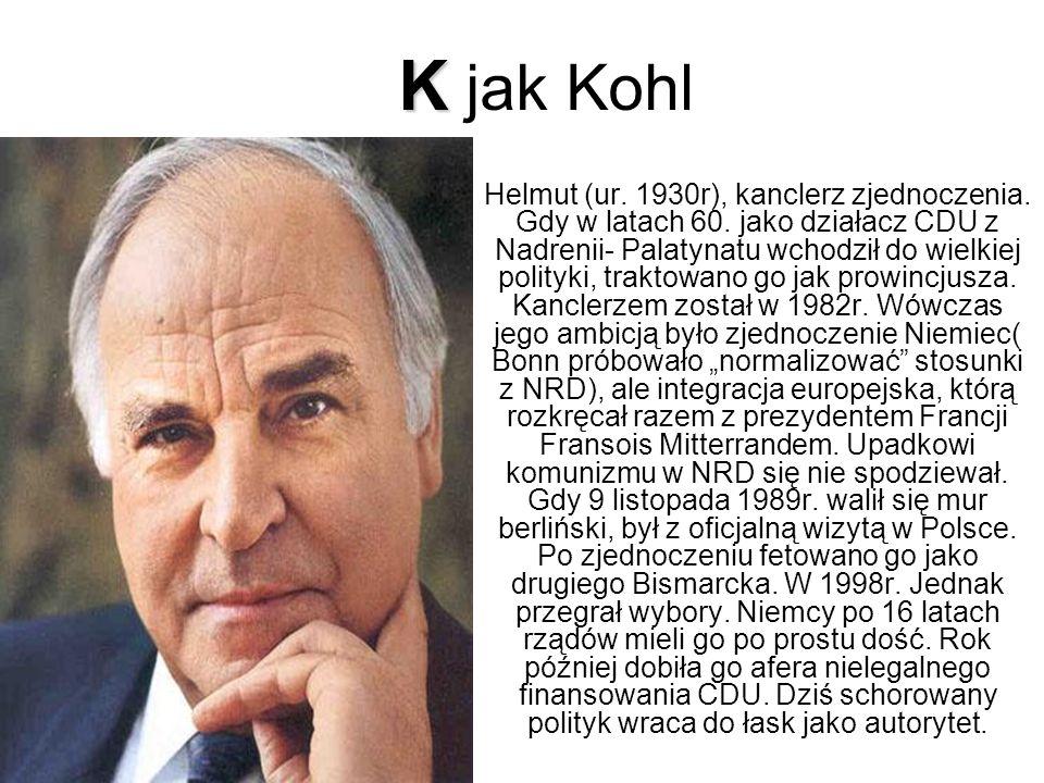 K jak Kohl