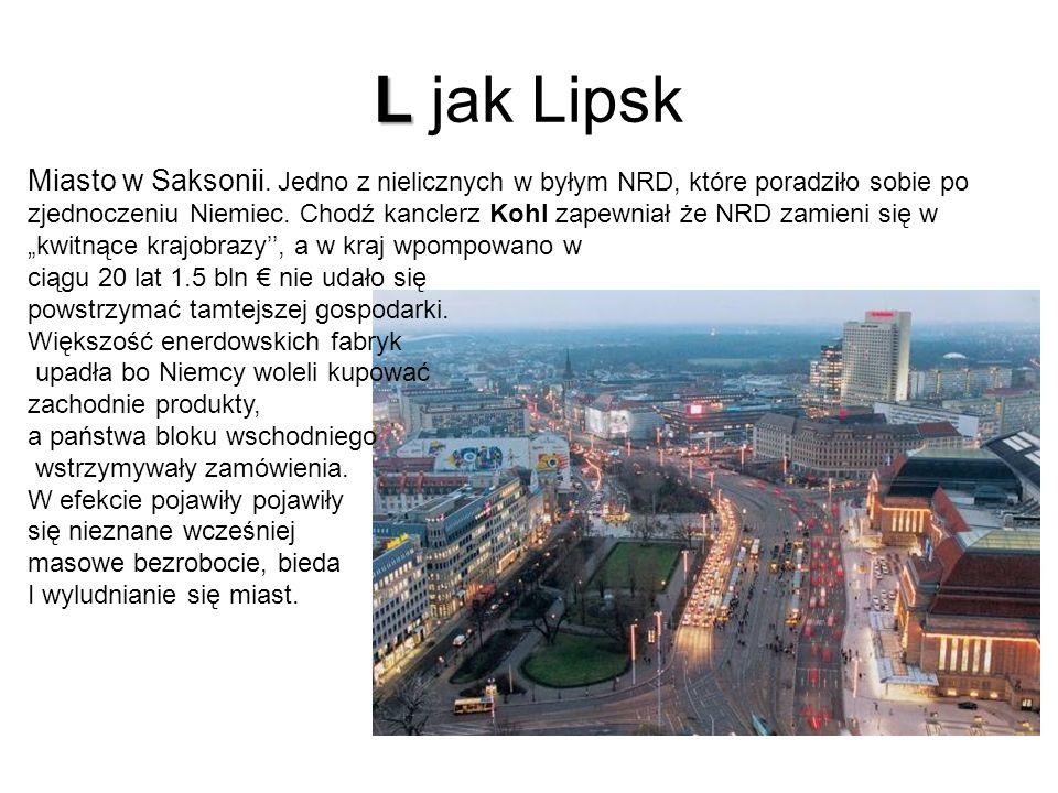 L jak Lipsk