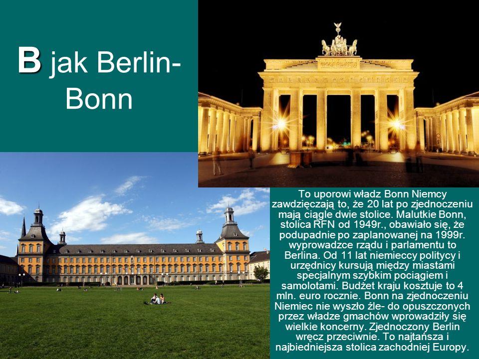 B jak Berlin- Bonn