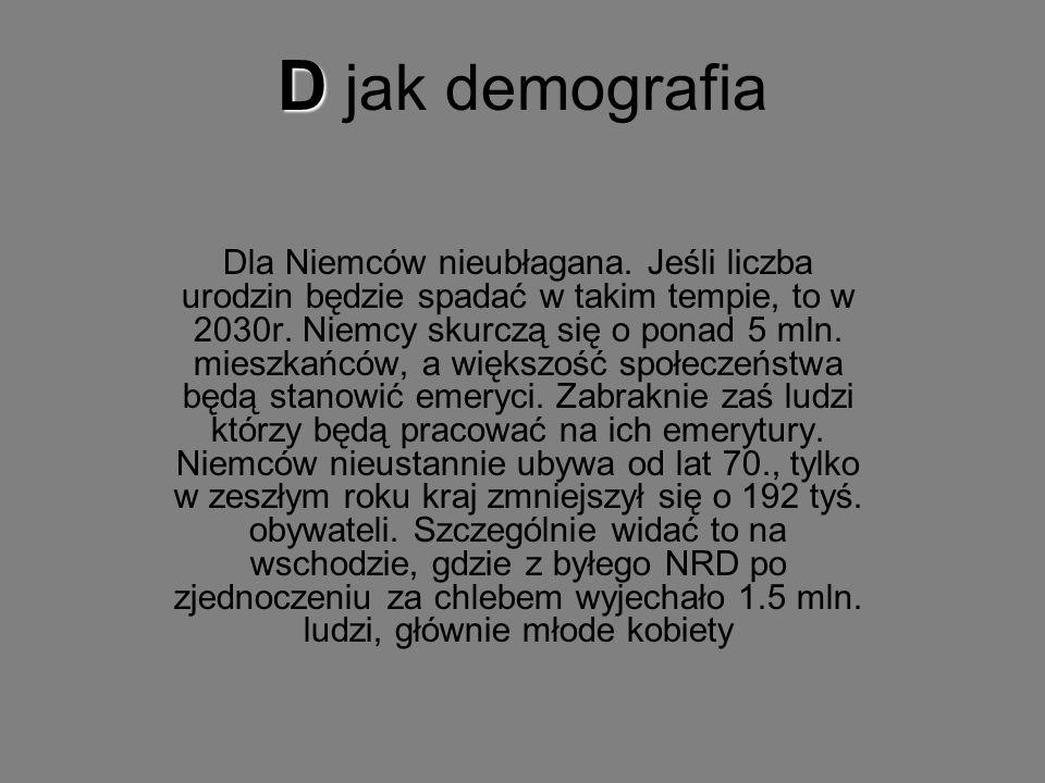 D jak demografia