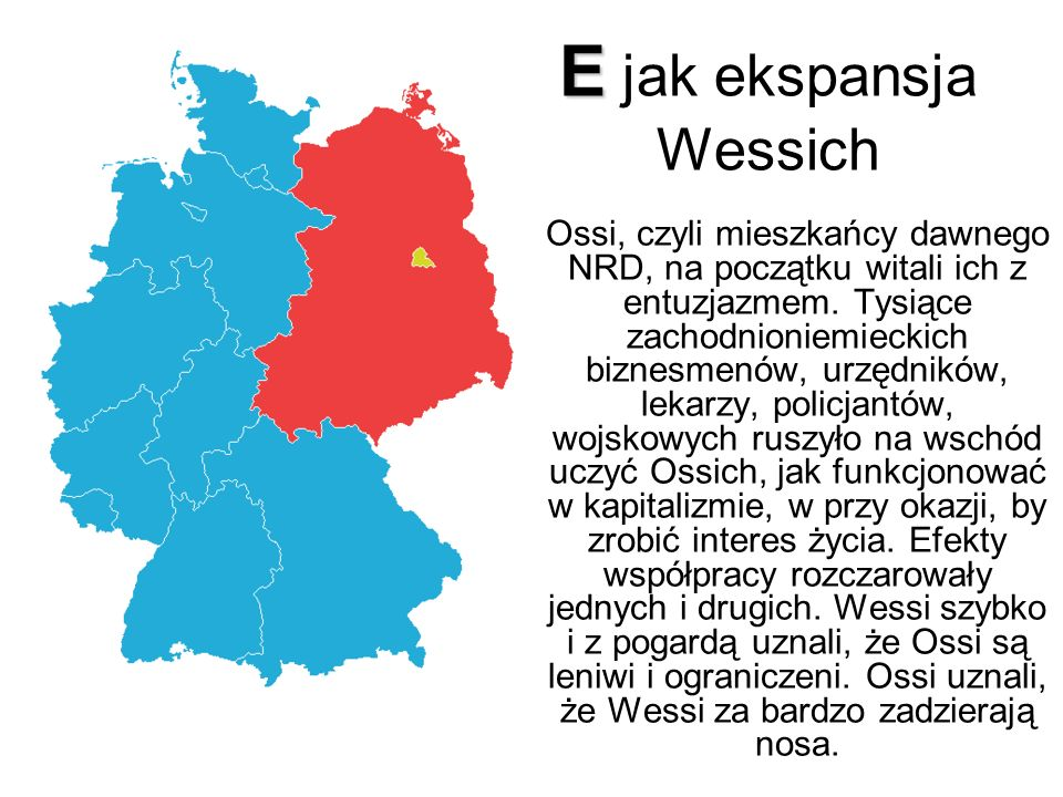 E jak ekspansja Wessich