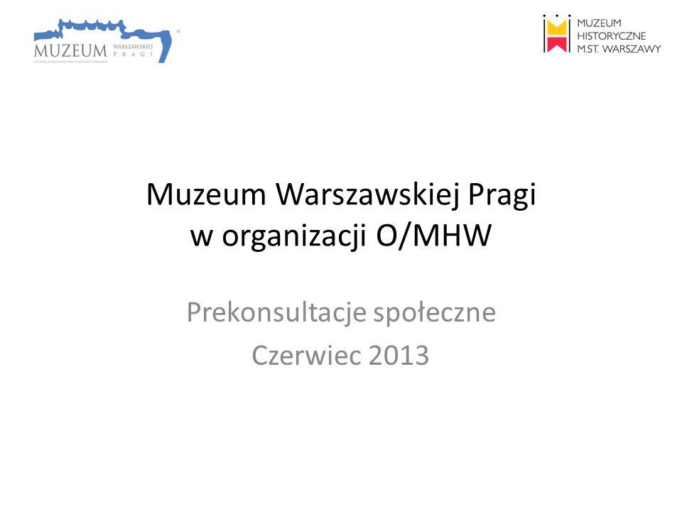 Muzeum Warszawskiej Pragi w organizacji O/MHW