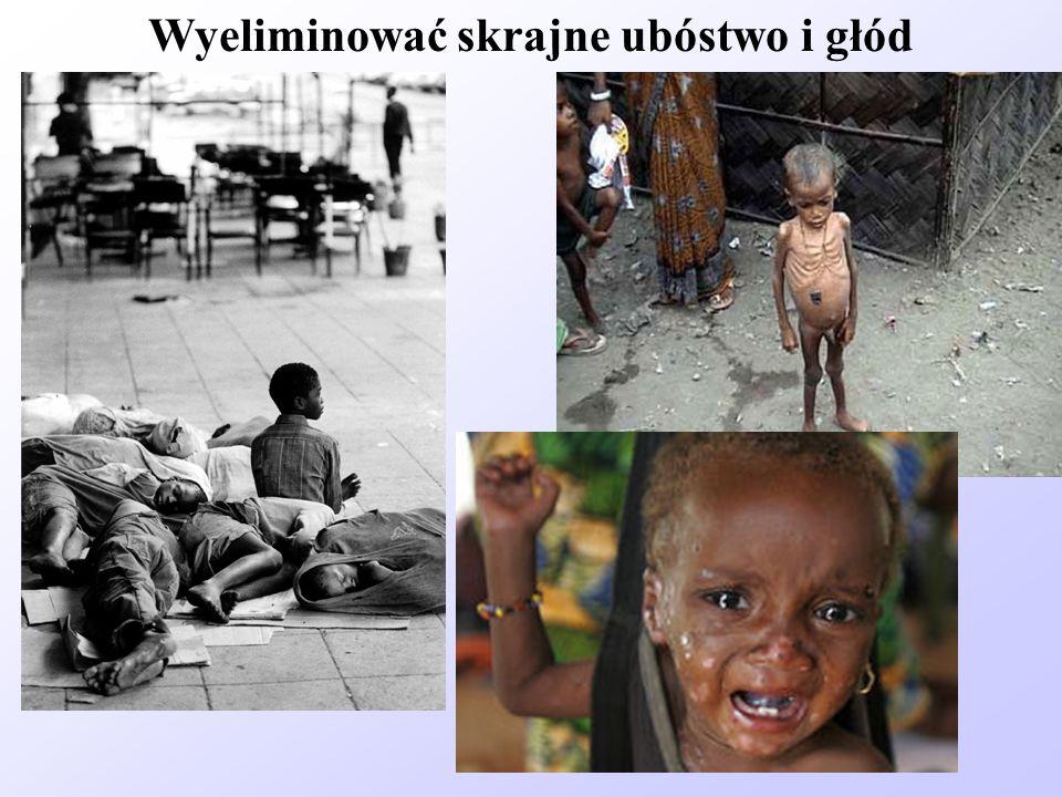 Wyeliminować skrajne ubóstwo i głód