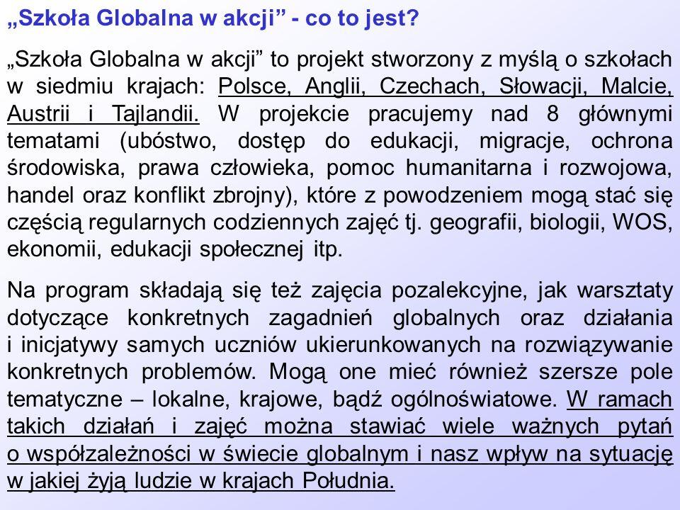 """""""Szkoła Globalna w akcji - co to jest"""