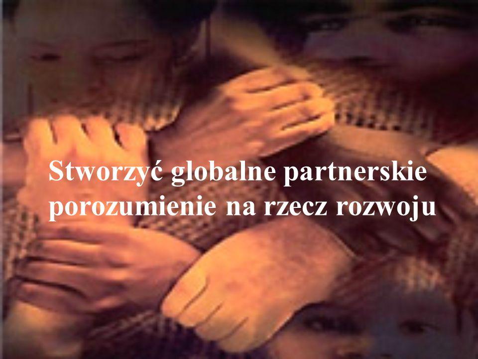 Stworzyć globalne partnerskie porozumienie na rzecz rozwoju