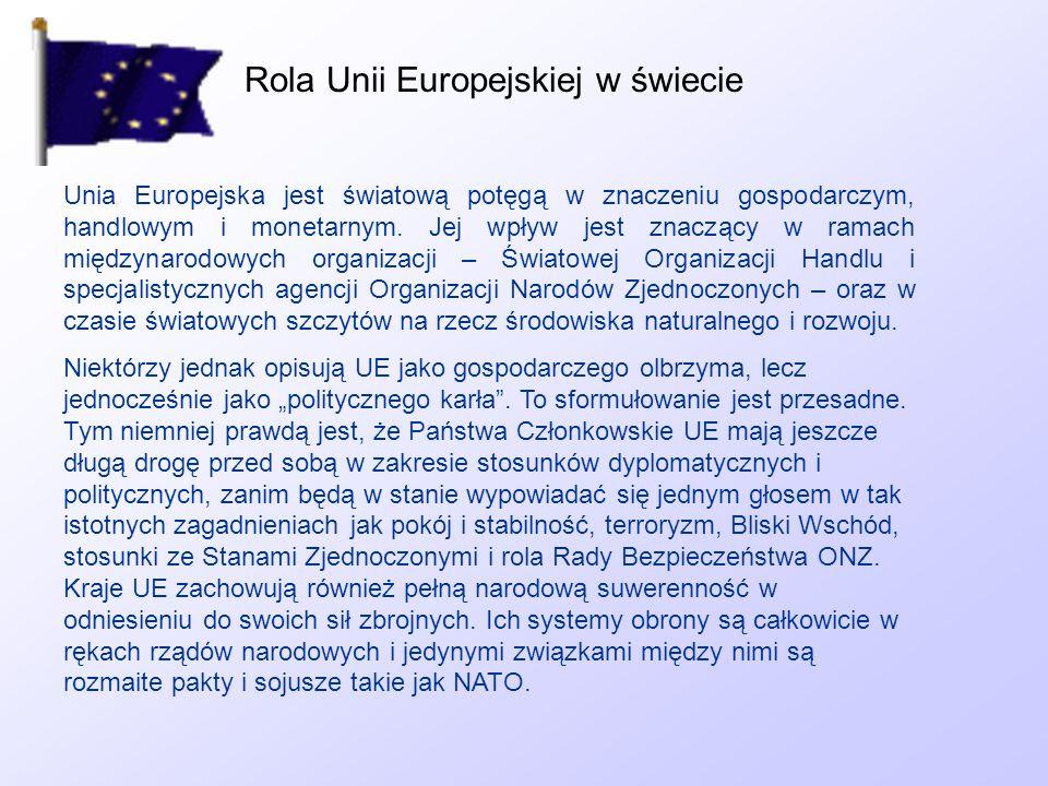 Rola Unii Europejskiej w świecie