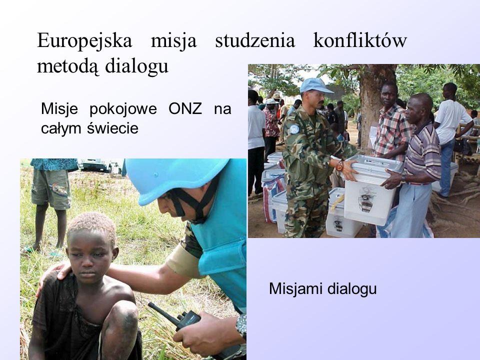 Europejska misja studzenia konfliktów metodą dialogu