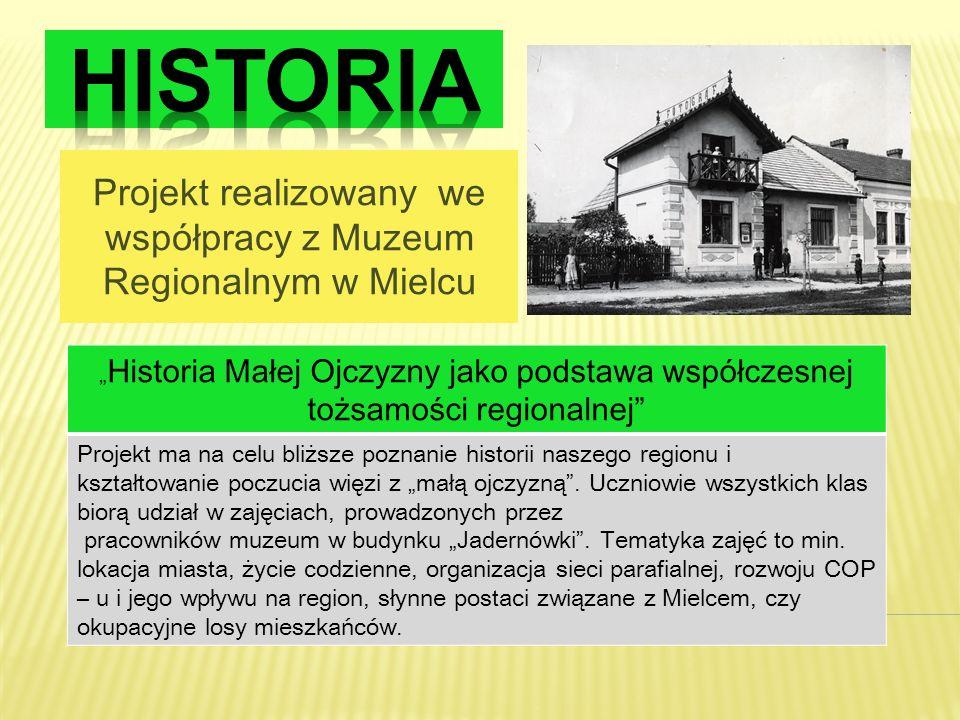 Projekt realizowany we współpracy z Muzeum Regionalnym w Mielcu