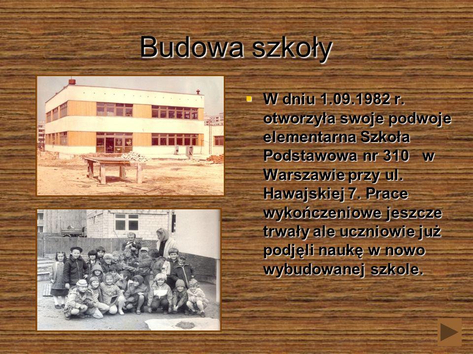Budowa szkoły
