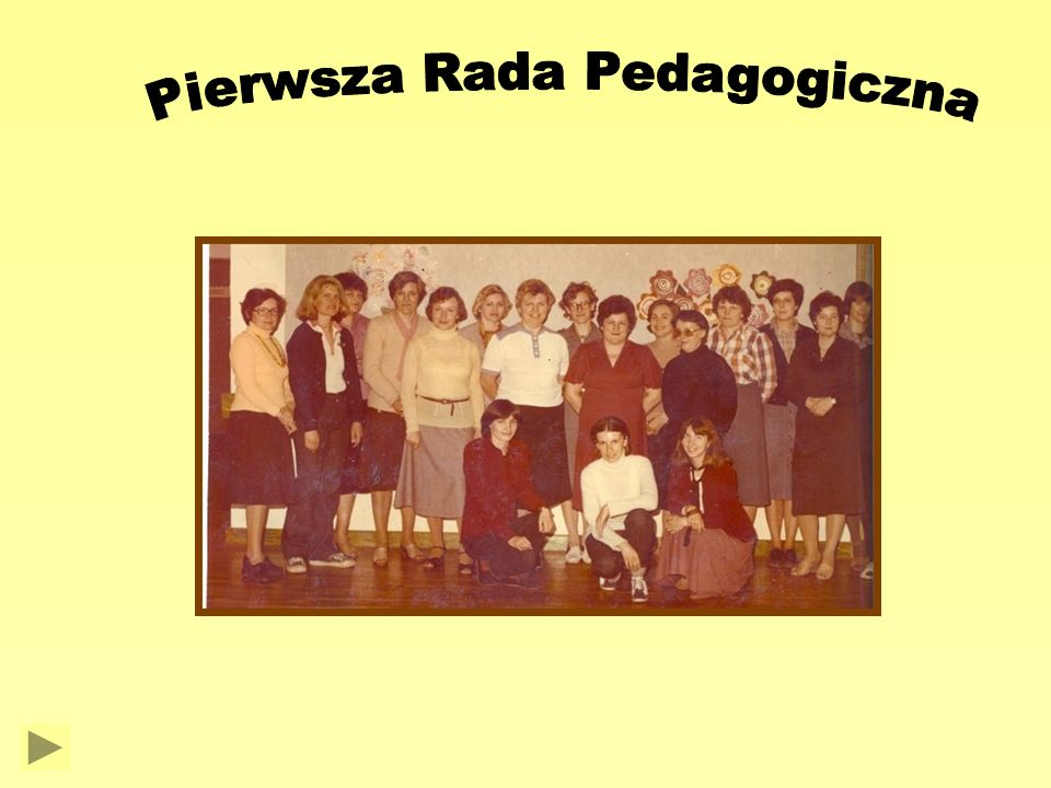 Pierwsza Rada Pedagogiczna