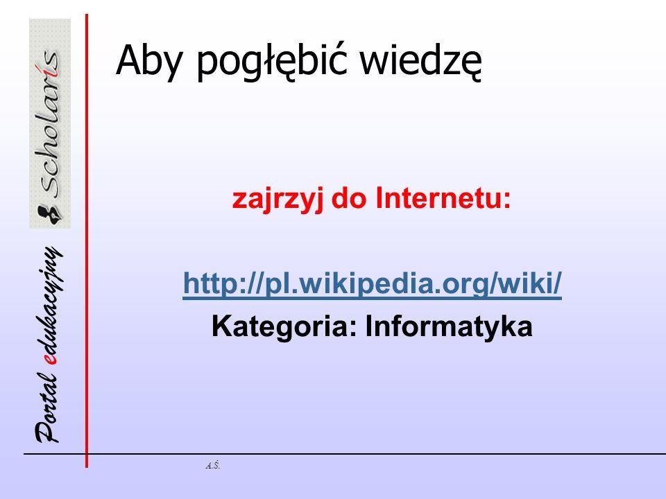 Kategoria: Informatyka