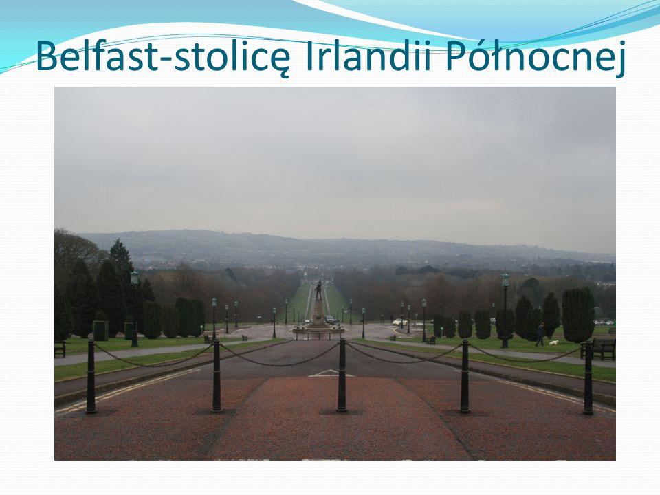 Belfast-stolicę Irlandii Północnej