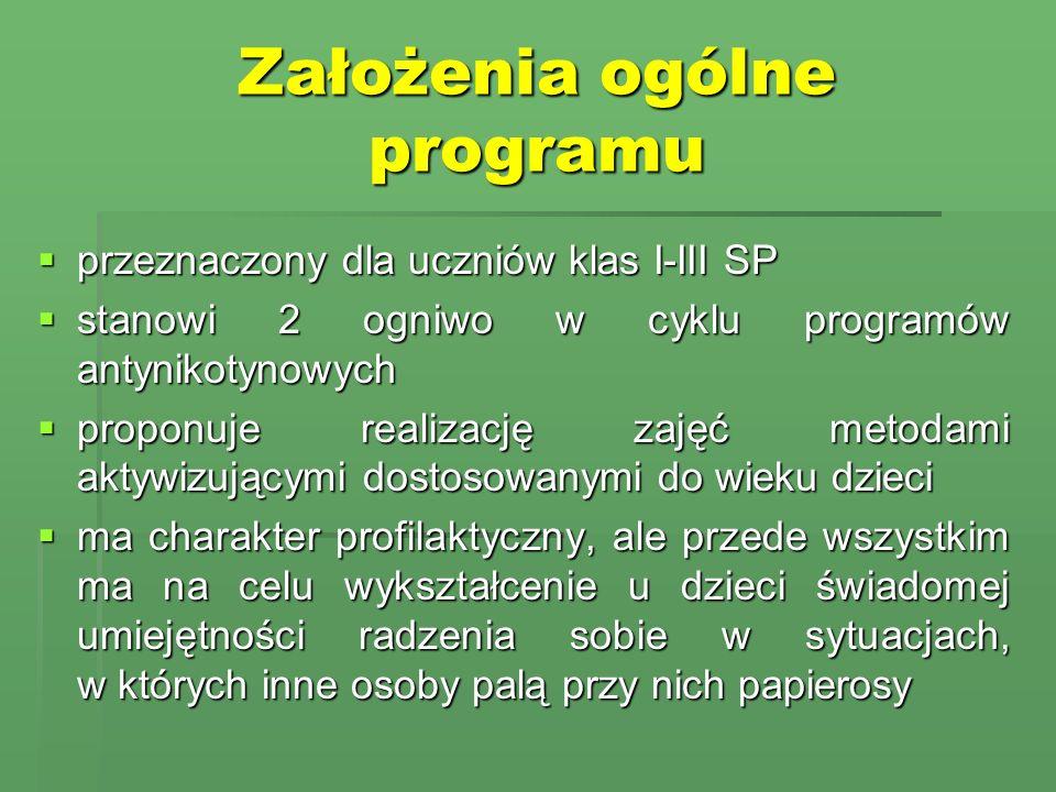 Założenia ogólne programu