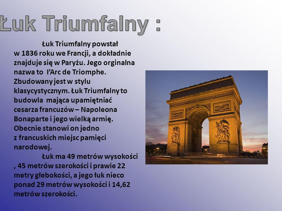 Łuk Triumfalny :