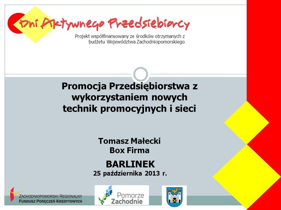 Projekt współfinansowany ze środków otrzymanych z budżetu Województwa Zachodniopomorskiego