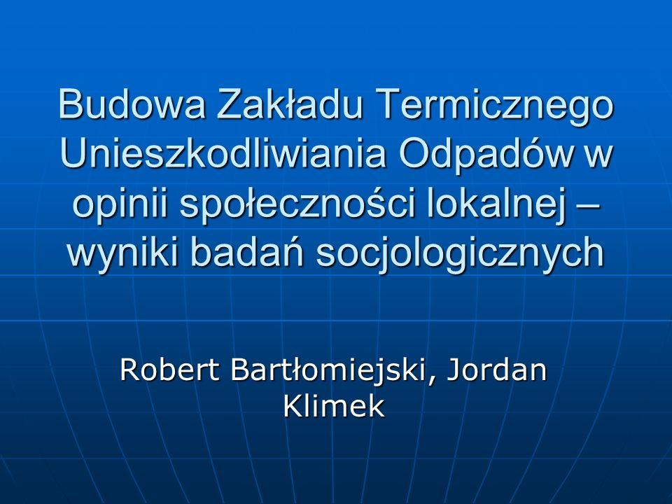 Robert Bartłomiejski, Jordan Klimek