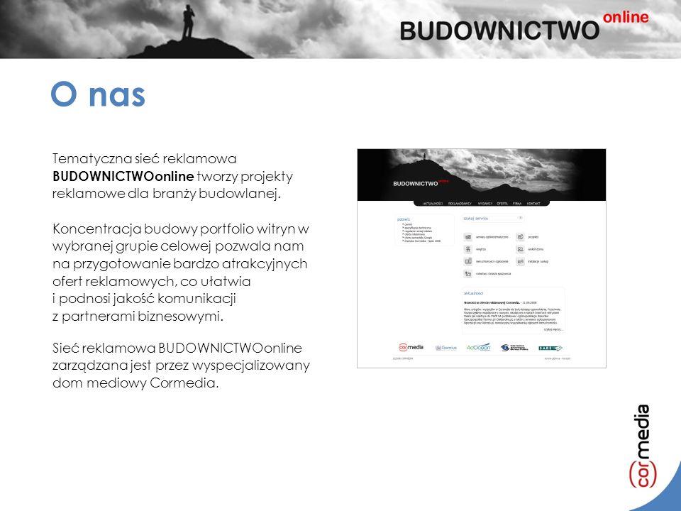 O nas Tematyczna sieć reklamowa BUDOWNICTWOonline tworzy projekty