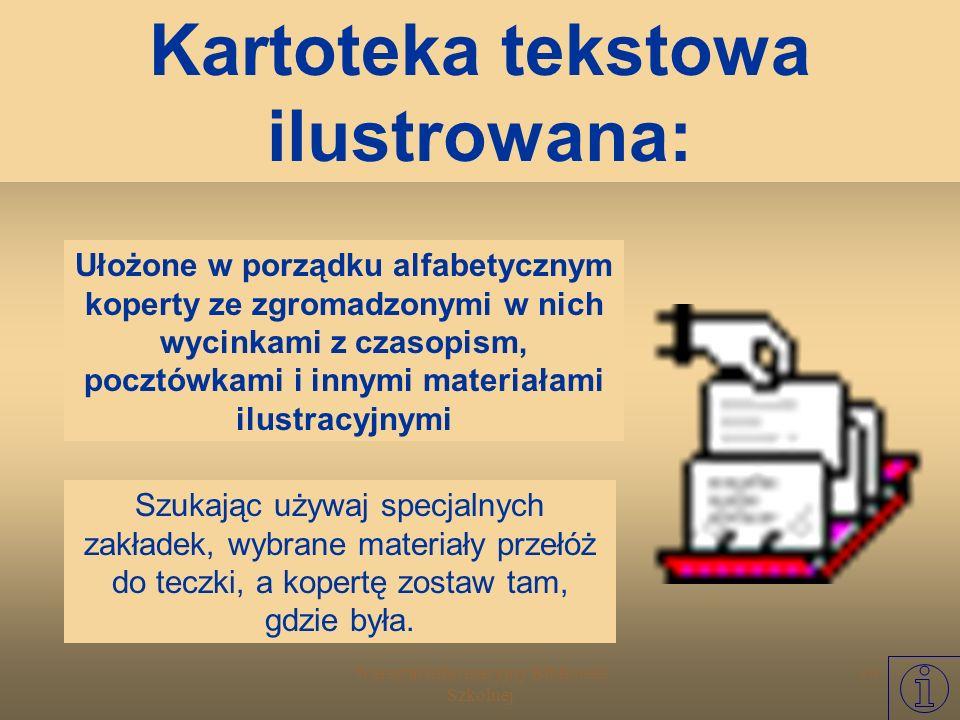 Kartoteka tekstowa ilustrowana: