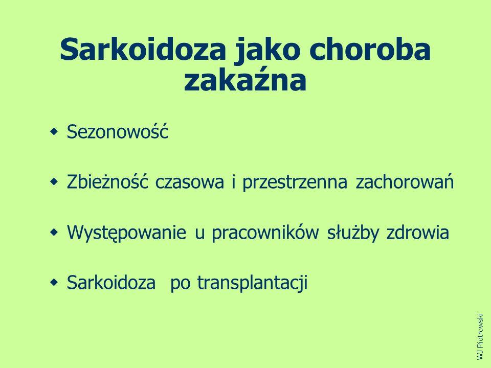 Sarkoidoza jako choroba zakaźna