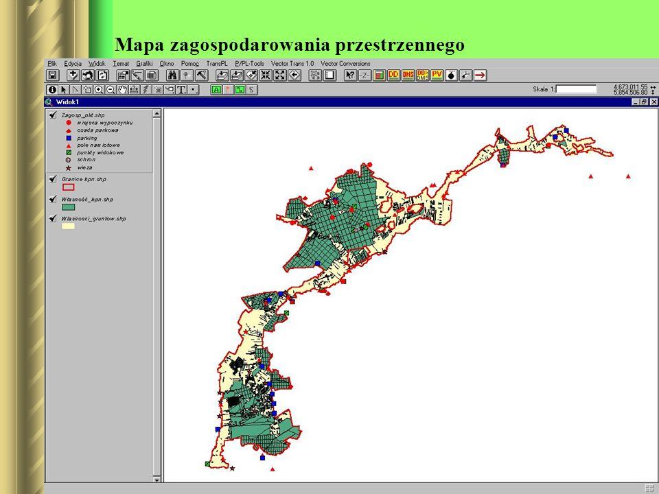 Mapa zagospodarowania przestrzennego