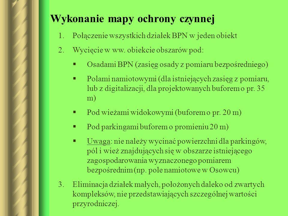 Wykonanie mapy ochrony czynnej