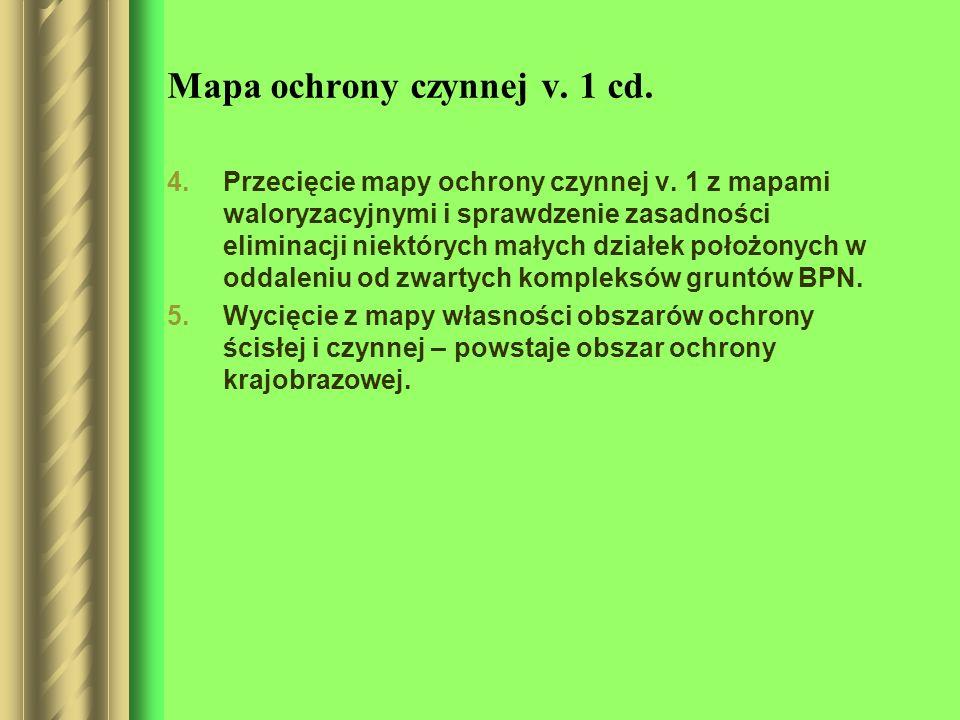 Mapa ochrony czynnej v. 1 cd.
