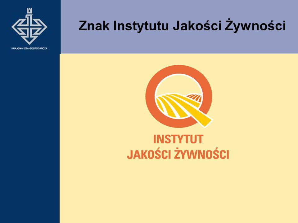 Znak Instytutu Jakości Żywności