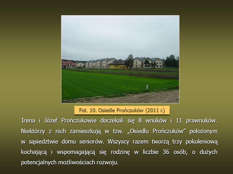 Fot. 10. Osiedle Prończuków (2011 r.)