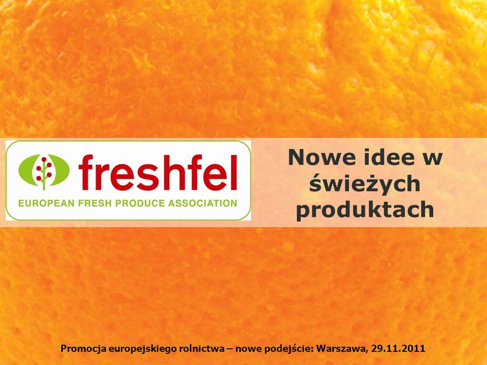 Nowe idee w świeżych produktach