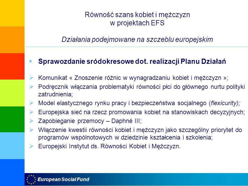 Sprawozdanie sródokresowe dot. realizacji Planu Działań