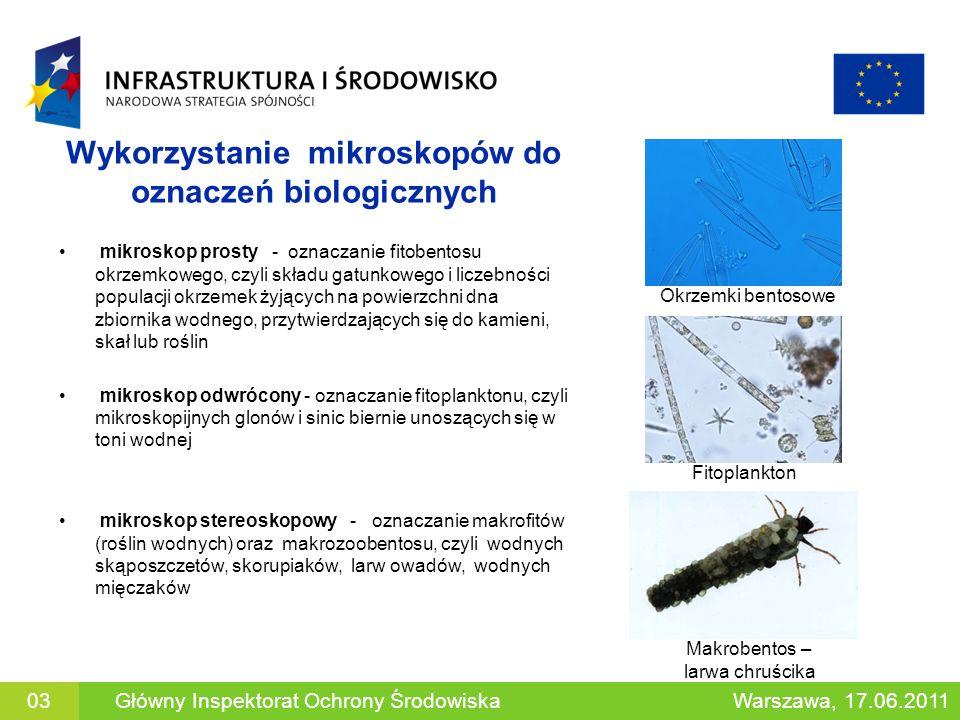 Wykorzystanie mikroskopów do oznaczeń biologicznych