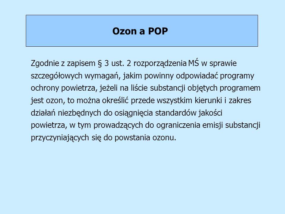 Ozon a POP