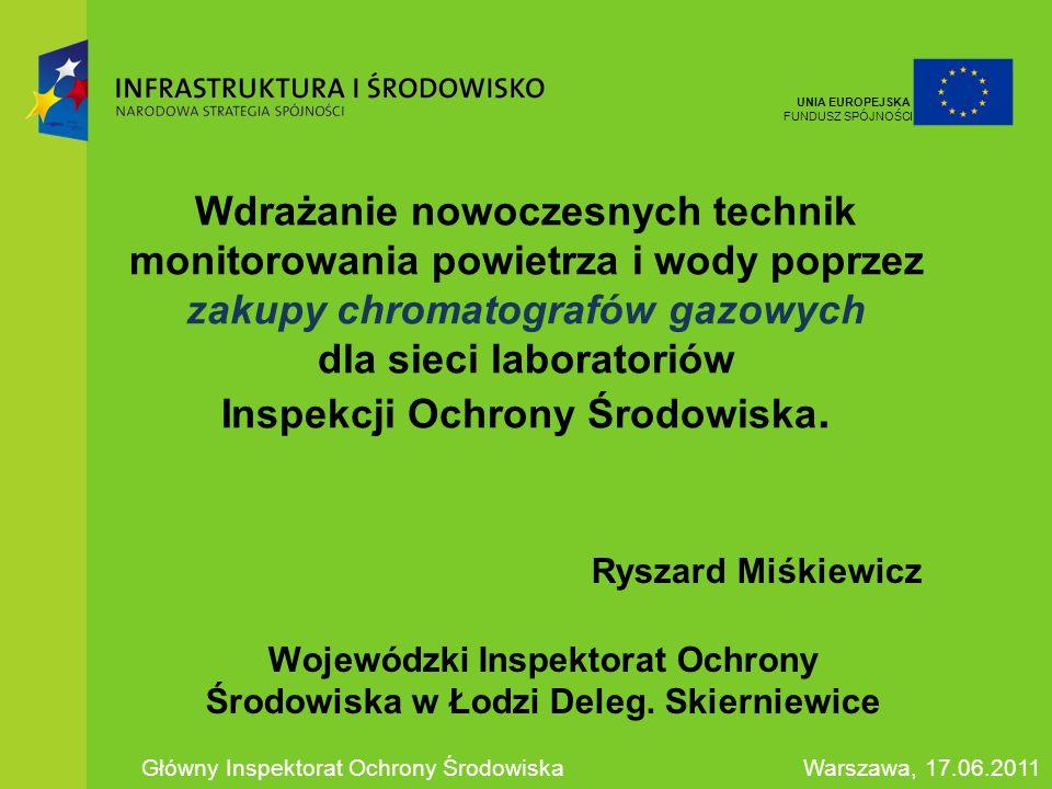 Wojewódzki Inspektorat Ochrony Środowiska w Łodzi Deleg. Skierniewice