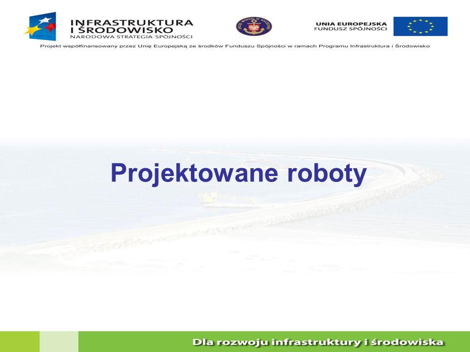 Projektowane roboty