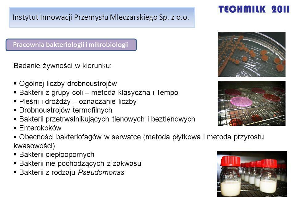 Pracownia bakteriologii i mikrobiologii