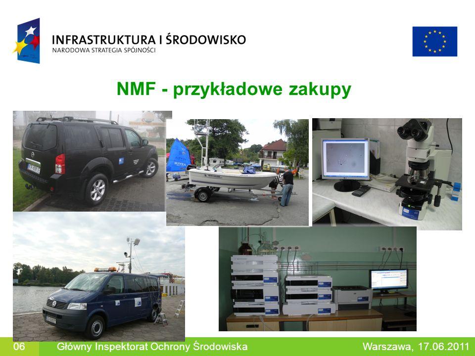 NMF - przykładowe zakupy