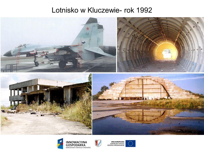 Lotnisko w Kluczewie- rok 1992