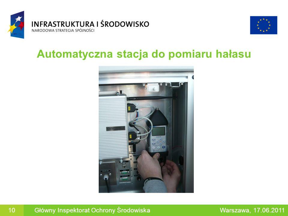 Automatyczna stacja do pomiaru hałasu