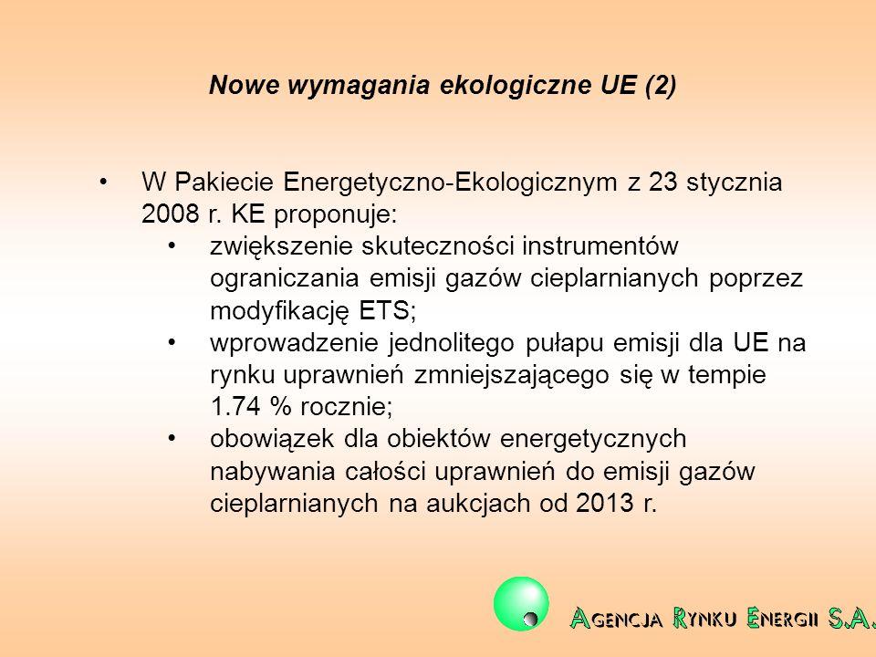 Nowe wymagania ekologiczne UE (2)