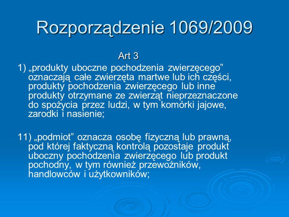 Rozporządzenie 1069/2009 Art 3.
