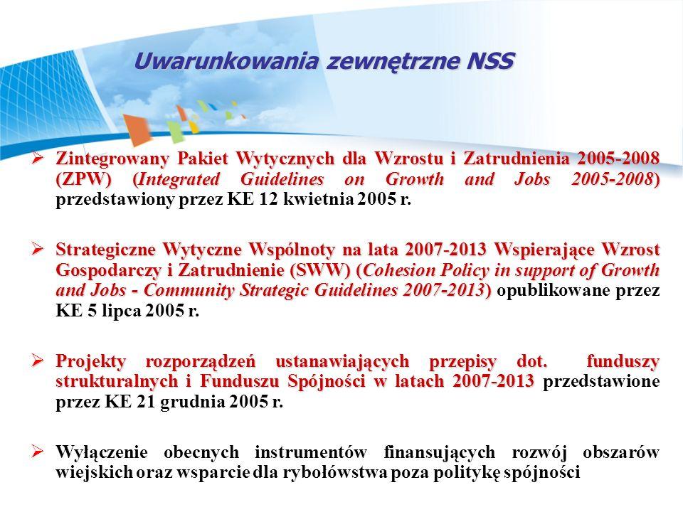 Uwarunkowania zewnętrzne NSS