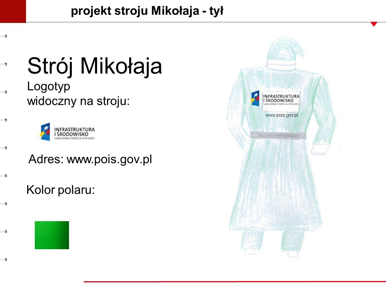 projekt stroju Mikołaja - tył