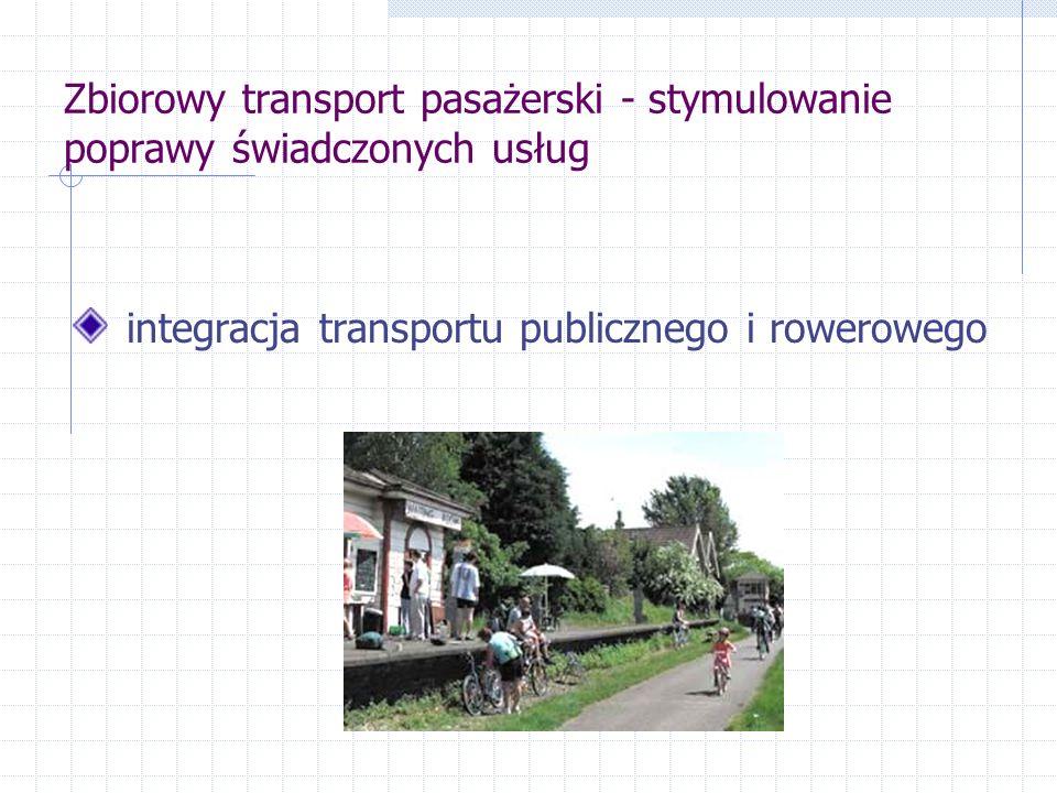 integracja transportu publicznego i rowerowego