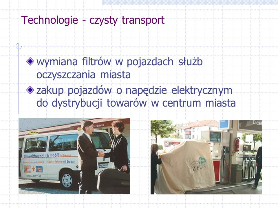 Technologie - czysty transport