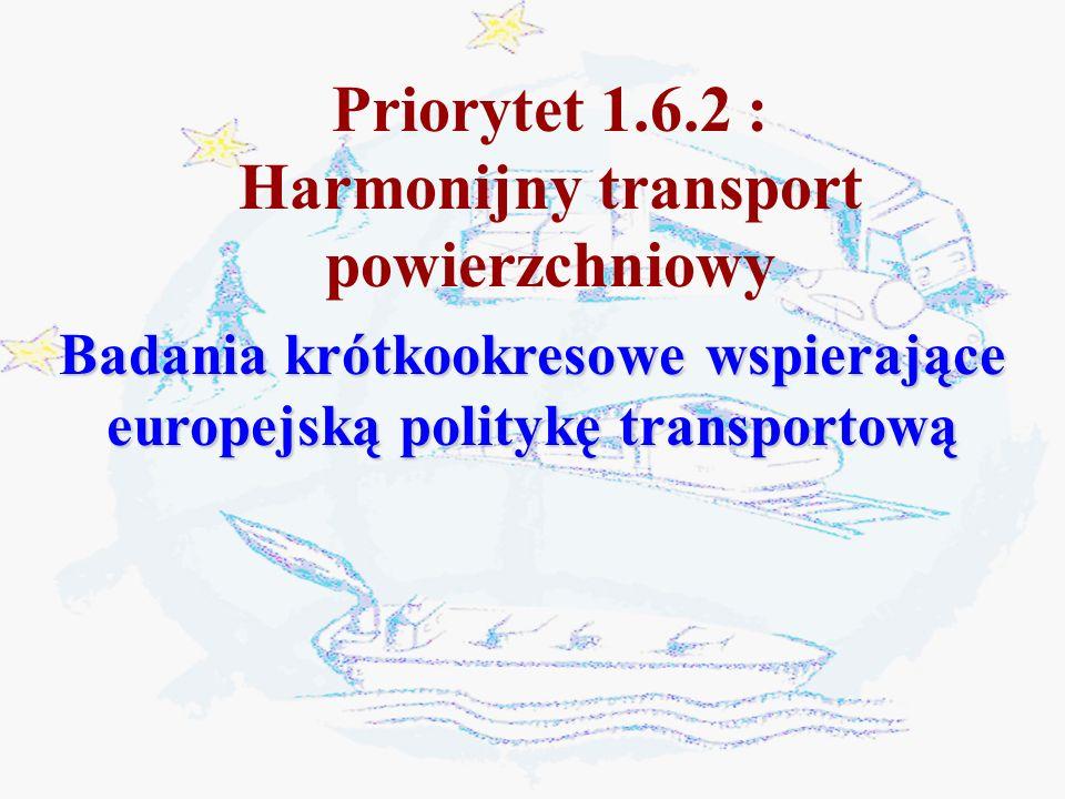 Priorytet 1.6.2 : Harmonijny transport powierzchniowy